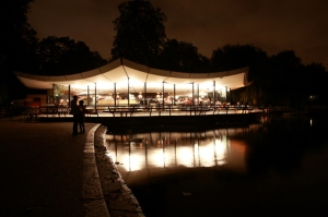 Dell Restaurant (now the Serpentine Bar & Kitchen, who kindly allowed me to use this photo)